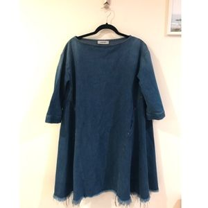 Rachel Comey-Oversize Denim Dress